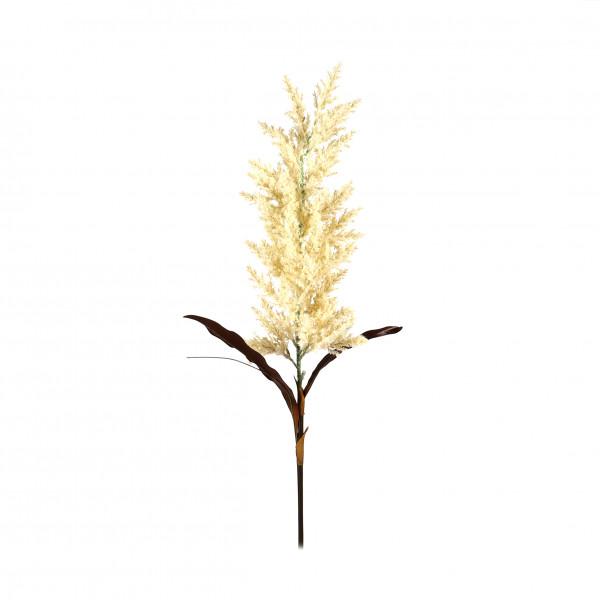 Pampasgras mit Laub, 88 cm, creme