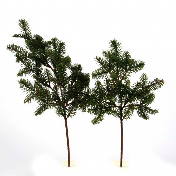 Tannen-Zweig, 52 cm, grün