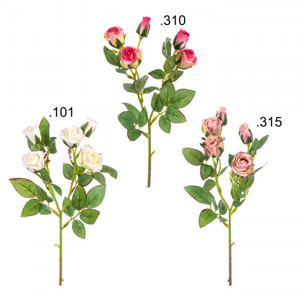 Rosenzweig, Miniblüten x 5, 43 cm