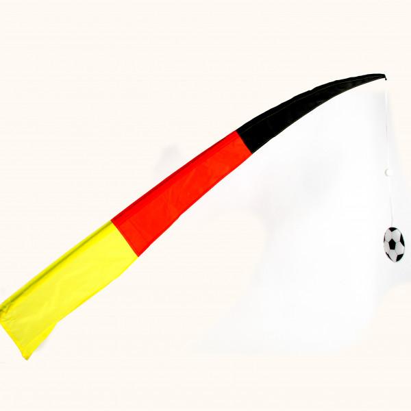 Deutschland Fussballfahne a. S tab