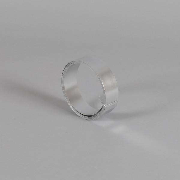 Aluminium Band 30mm breit 3 m Rolle silber
