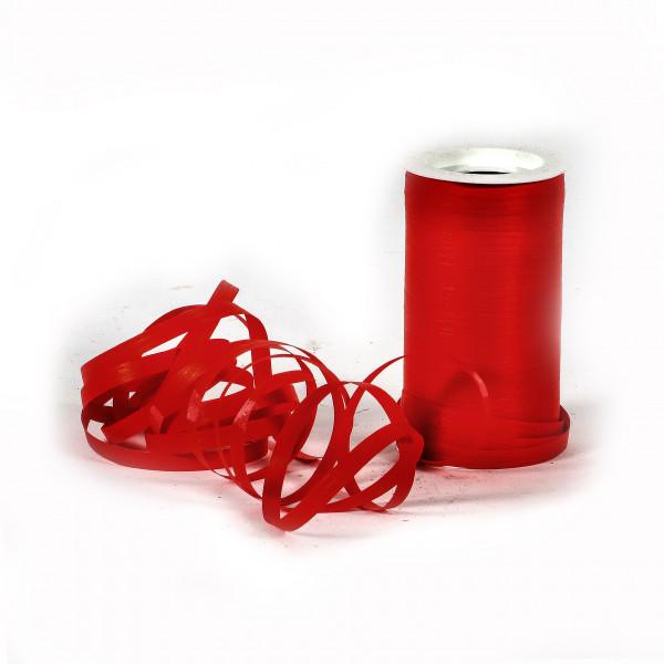 Papierlineband Rolle 7mm breit 100 m lang rot
