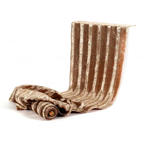 Deko-Stoff Auaris Textil, samtoptik