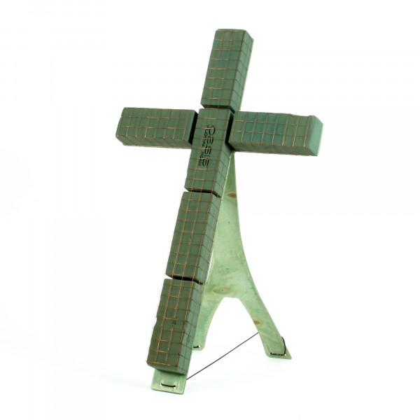 Oasis Bioline Kreuz m. Aufstel lvor. 40x25x5,5cm klein