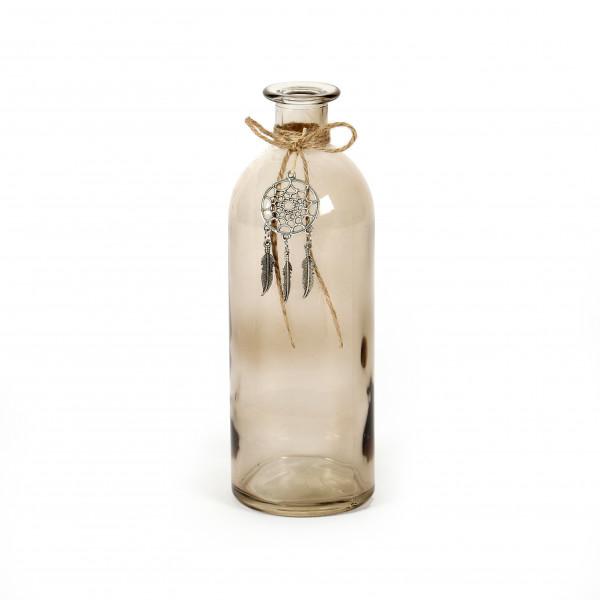 Flasche Idaho Glas, klar, 5,5x16,5 cm