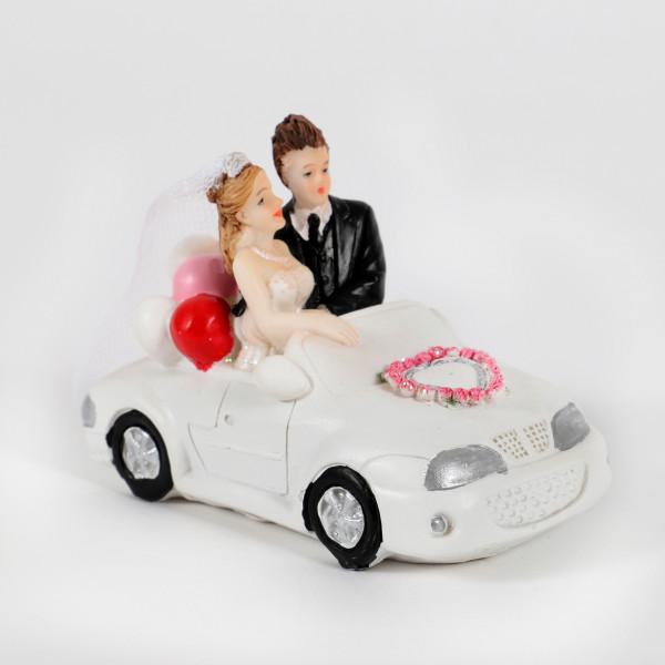 Hochzeitsauto 10x5,5cm