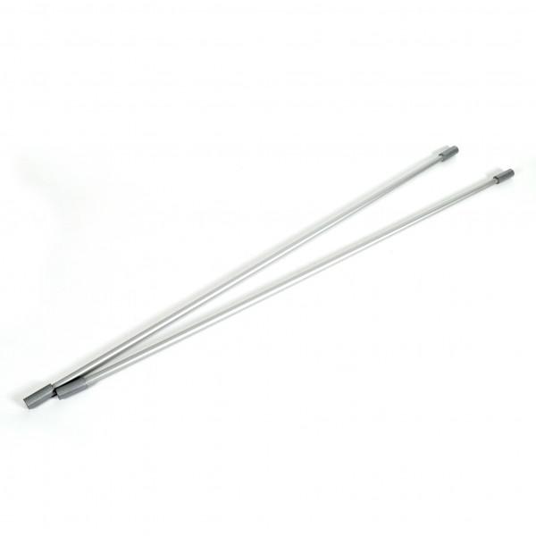 Rundstäbe Metall Set 2 Stäbe für Banner 90cm lang
