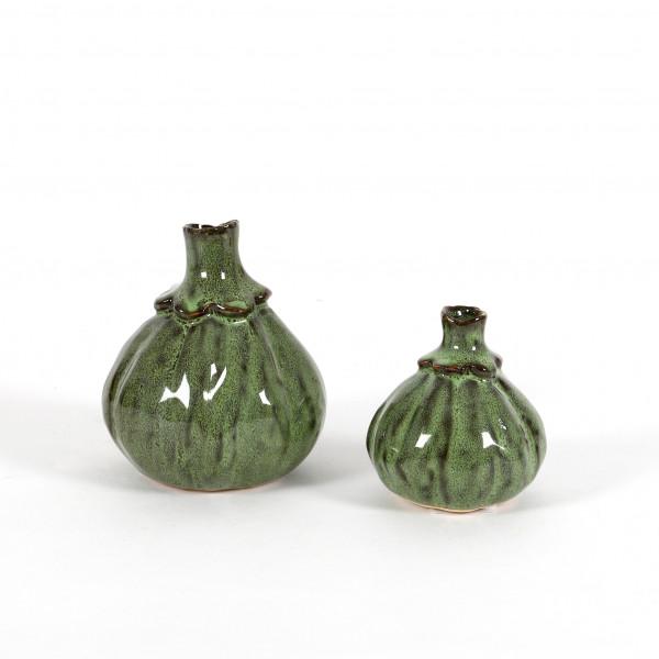 Keramik Vase Pia schlanker Hals